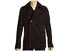 DSQUARED2 - Military Pea Coat (Dark Brown) - Apparel