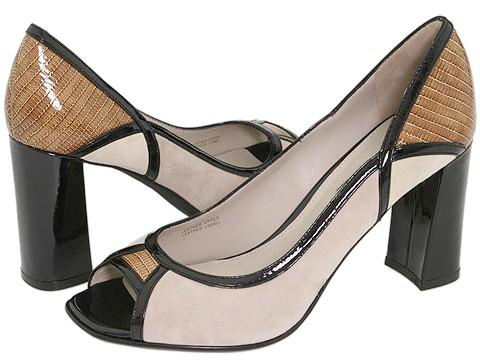 Via Spiga - Jessy (Platinum Taupe Kid Suede) - Footwear