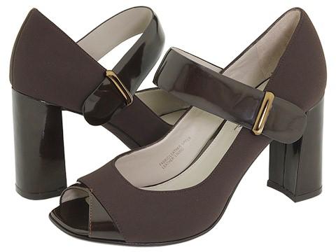 Via Spiga - Jillian (Chestnut Fabric) - Footwear