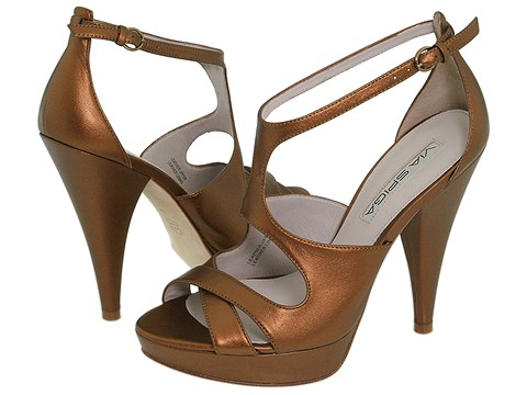 Via Spiga - Aaron (Dark Bronze Leather) - Footwear
