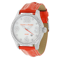 Dooney & Bourke Crystal Patent Leather Watch at Zappos.com from zappos.com