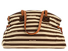 Dooney & Bourke - Horizon Stripe Large Duffle (Brown/Beige) - Bags and Luggage