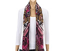 Alexander McQueen - Stained Glass Shawl 2266913010Q (Magenta) - Accessories