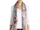 Alexander McQueen - Shawl Scribble Rock 2267003010Q (Rosso) - Accessories