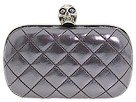 Alexander McQueen - Skull Box Clutch 208024CAY0Y (Stone) - Bags and Luggage