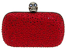 Alexander McQueen - Skull Box Clutch 208024F14HR (Garnet) - Bags and Luggage