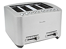 Breville - BTA840XL Die-Cast 4-Slice Smart Toaster (Stainless Steel)
