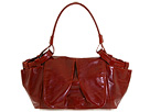 Francesco Biasia - City Girl Small Flap Hobo (Orange) - Bags and Luggage