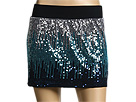 Free People - Sequin Mini Skirt (Black) - Apparel