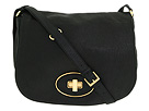 Cole Haan - Saddle Crossbody Flap Bag (Black) - Bags and Luggage