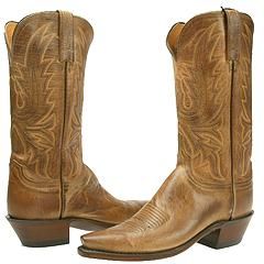 Lucchese - N4540 (Tan Mad Dog Goat)  Manolo Likes!
