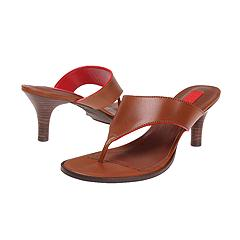 Lauren by Ralph Lauren - Shelby (Toffee Vachetta W/ Racer Red Edgestain) - Women's