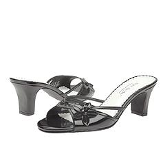 Hush Puppies - Pizazz (Black Patent) - Women's