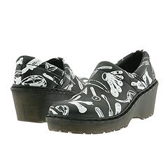 Dr. Martens - 9A61 (Black/White) Clogs