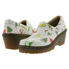 Dr. Martens - 9A61 (White/Multi) Clogs