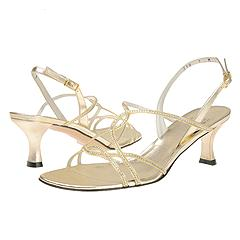 Stuart Weitzman - Balance (Gold Supple Kid)  Manolo Likes!