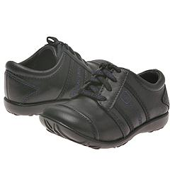Kenneth Cole Reaction Kids - Ricky-Tic (Children) (Black Leather) - Kids