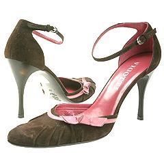 Vigotti - Fano 40413 (Brown Suede/Pink) - Women's   Manolo Likes!  Click!