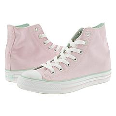 Converse - All Star Pastel Roll Down Hi (Pink/Mint Green) - Men's