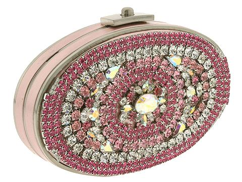 Moo Roo Handbags L'Opera (Pink) - Evening Clutch :  beaded purse clutch evening