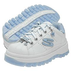 Skechers Kids - Shindigs-Jive (White/Light Blue)
