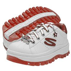 Skechers Kids - Shindigs-Jive (White/Red)