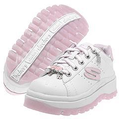 Skechers Kids - Shindigs-Jive (White/Light Pink)