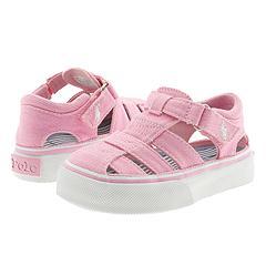 Polo Ralph Lauren Kids - Cagney (Infant/Children) (Pink Canvas) - Kids