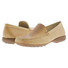 Geox - D Euro Loafer- Phyton Print (Sand) - Women's