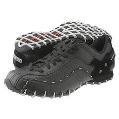 Black diesel shoes for men