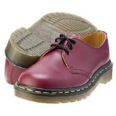 Dr. Martens - 1461 (Cherry Red Smooth) Oxfords