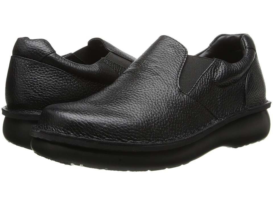 Propet - Galway Walker (Black Grain) Mens Shoes