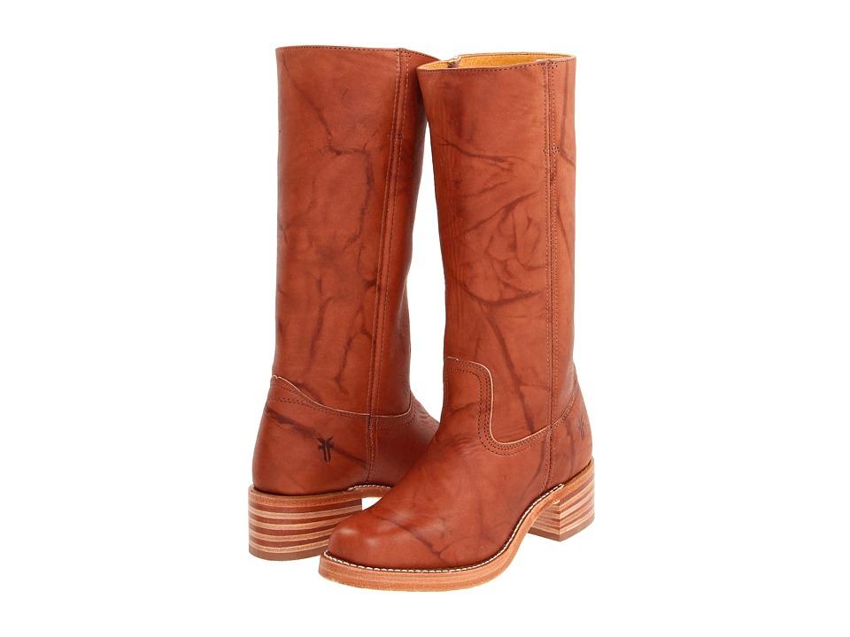 Frye - Campus 14L (Saddle Leather) Cowboy Boots