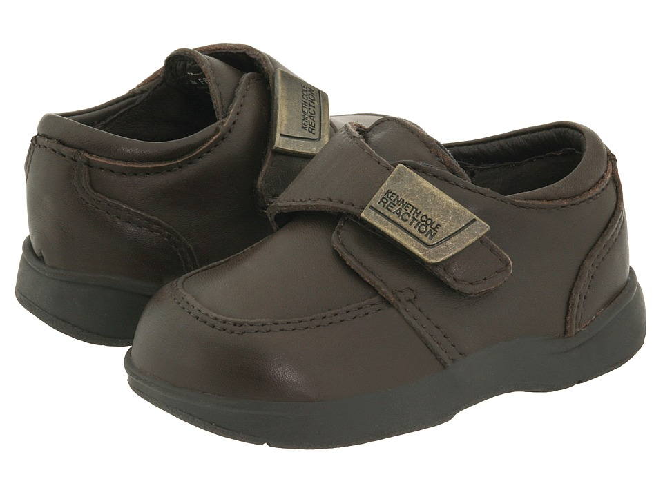 Kenneth Cole Reaction Kids Tiny Flex (Infant/Toddler) (Chocolate) Boys Shoes
