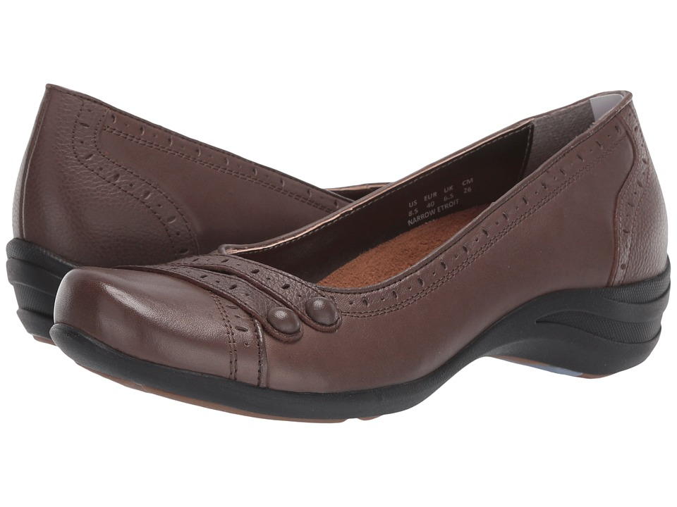 Hush Puppies Burlesque (Dark Brown Leather) Women