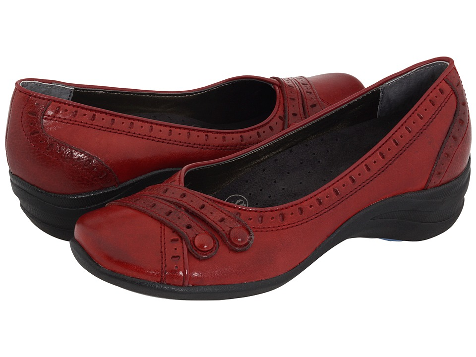 Hush Puppies Burlesque (Dark Red Leather) Women