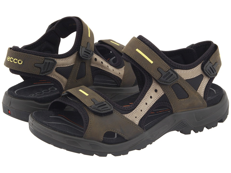 ECCO Sport - Yucatan Sandal (Tarmac/Moon Rock) Mens Shoes