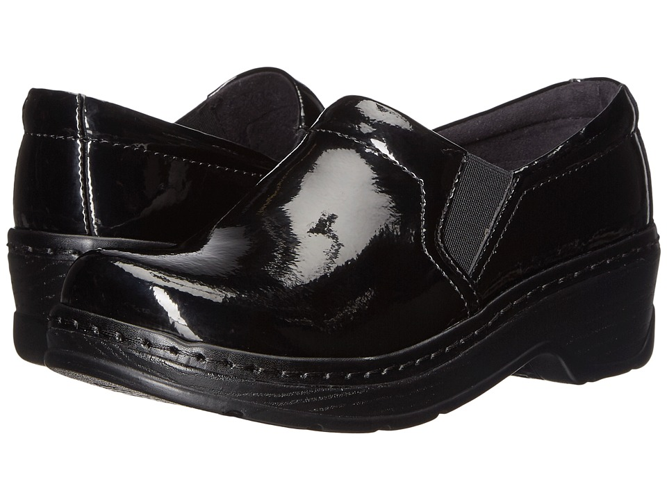 Klogs Footwear Naples (Black Patent) Women's Clogs