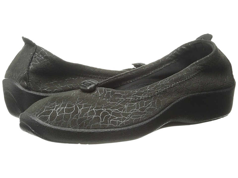 Arcopedico L14 Black Womens Flat Shoes