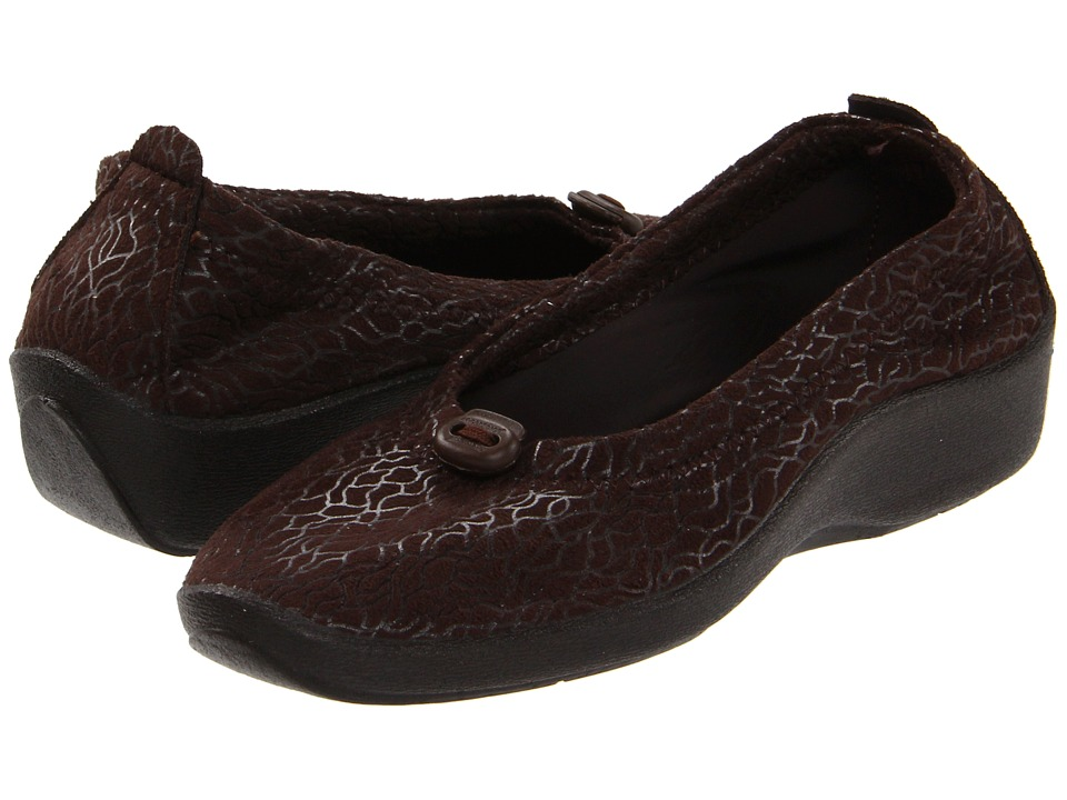 Arcopedico L14 Caf Womens Flat Shoes