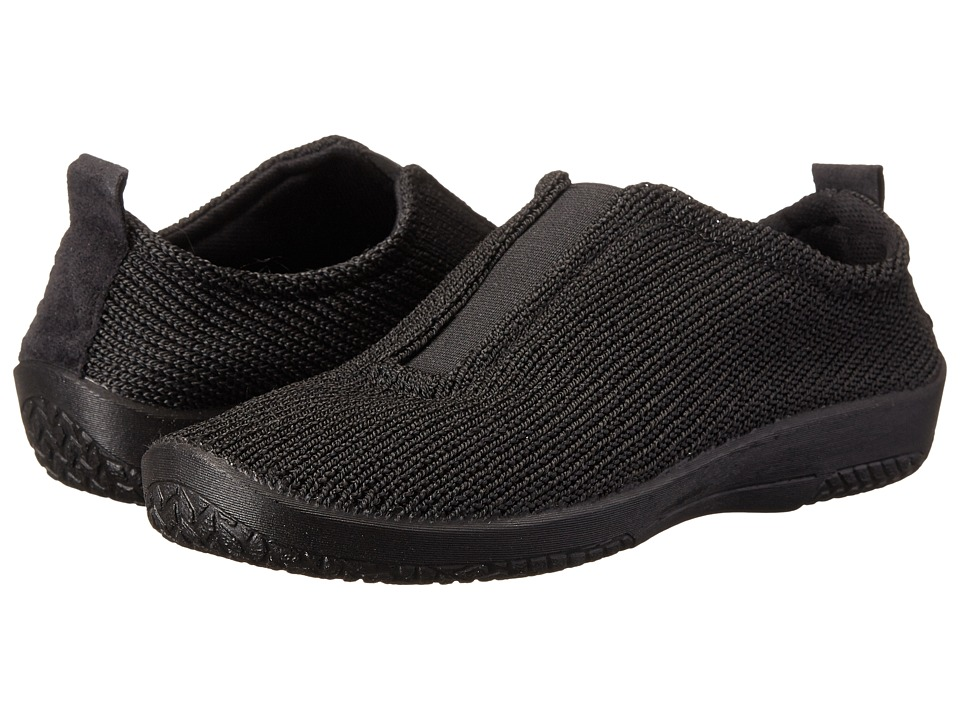 Arcopedico ES Black Womens Slip on Shoes