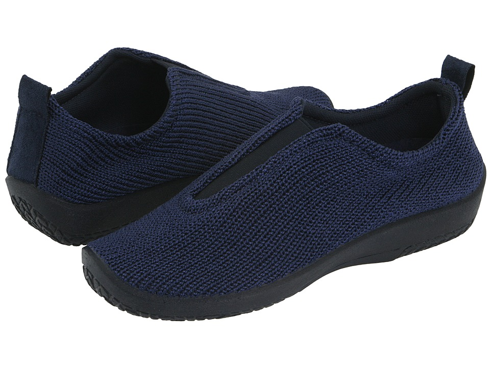 Arcopedico ES Navy Womens Slip on Shoes
