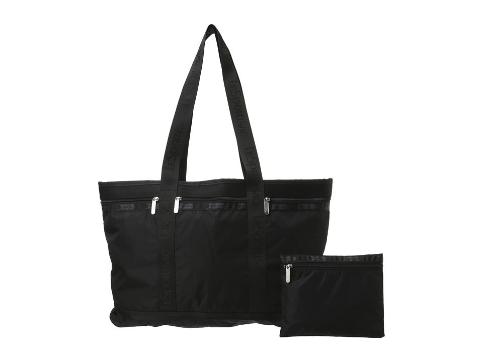 LeSportsac Luggage - Travel Tote Bag (Black) Tote Handbags