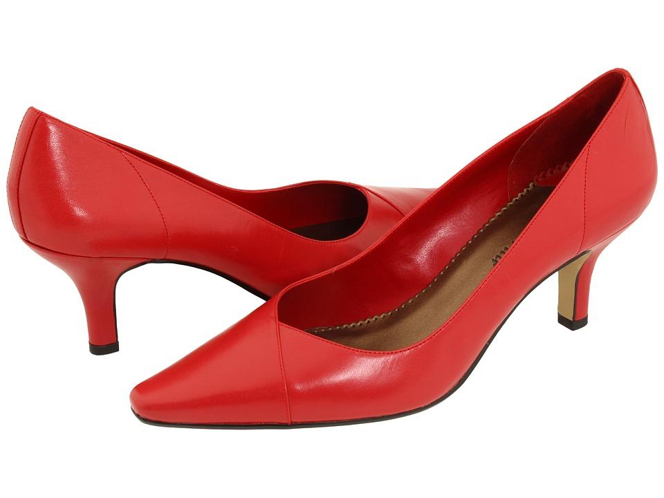 Bella-Vita Wow (Red Kidskin) High Heel Shoes