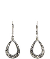 Judith Jack - Basic Leverback Teardrop Marcasite Earrings