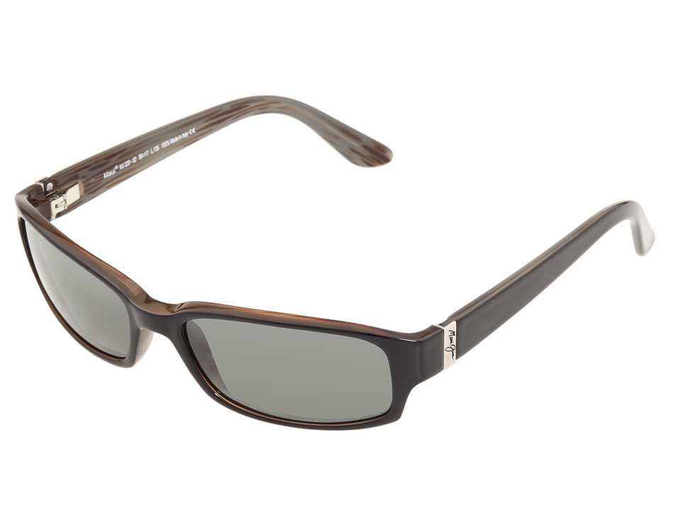 Maui Jim Atoll Gloss Black/Neutral Grey Lens Sport Sunglasses