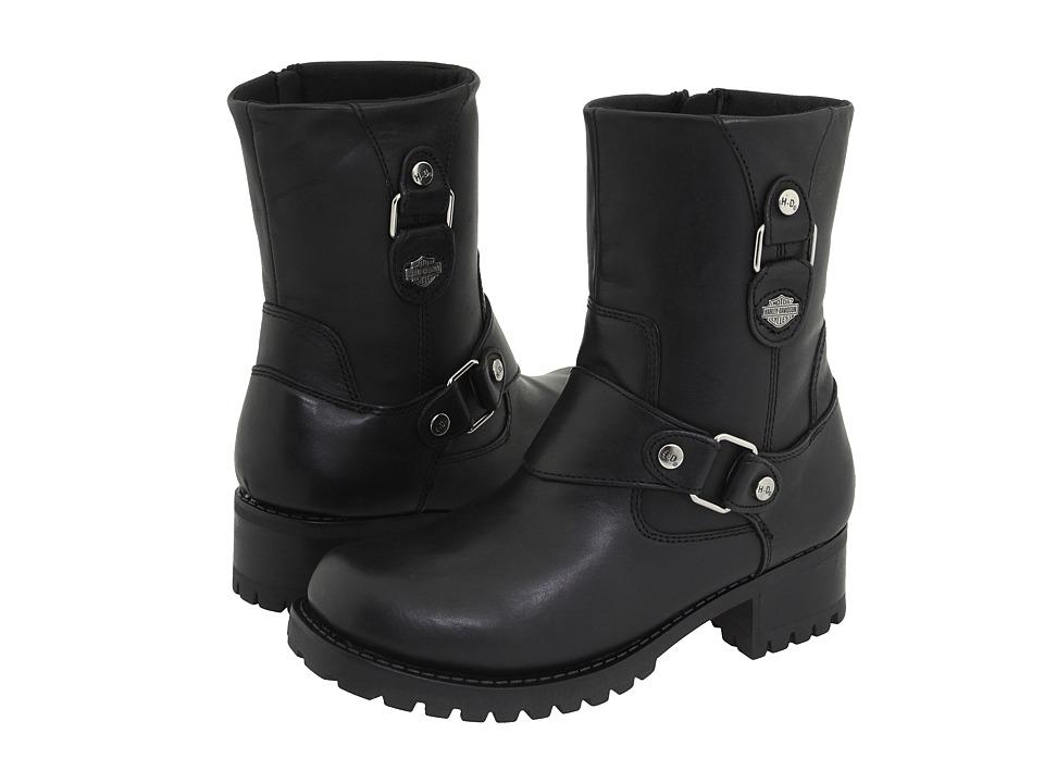 Harley-Davidson - Alivia (Black) Womens Zip Boots