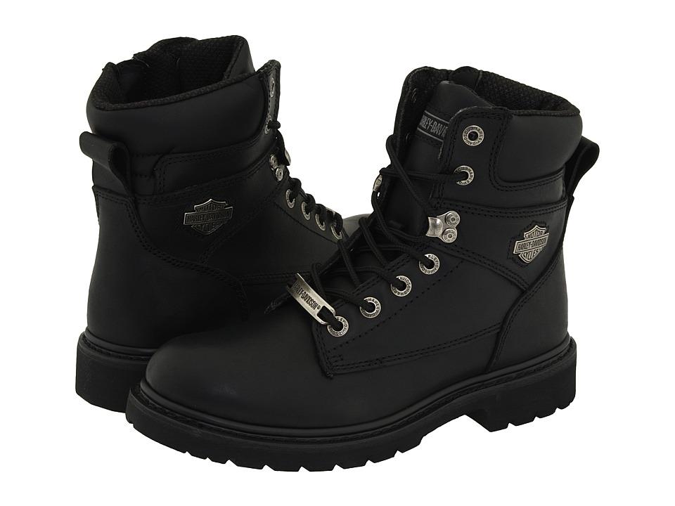 Harley-Davidson - Austwell (Black) Mens Zip Boots