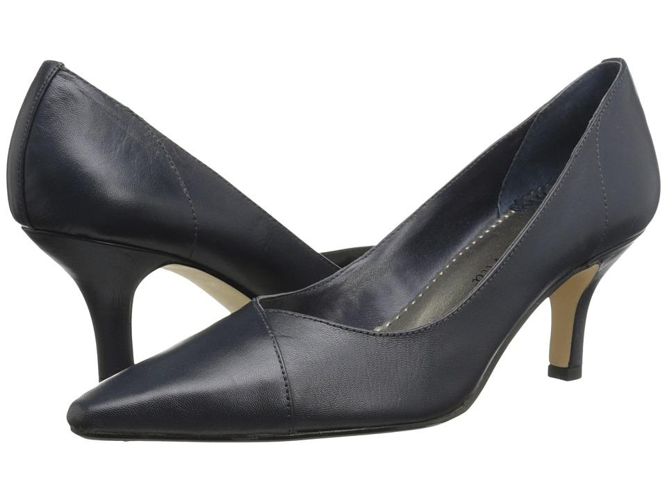 Bella-Vita Wow (Navy Kidskin) High Heel Shoes