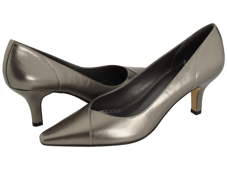 Bella-Vita Wow (Pewter Kidskin) High Heel Shoes